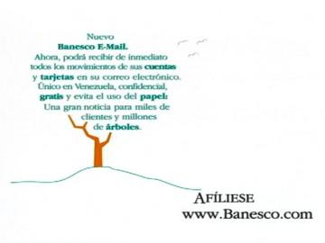 Banesco-Arbol-Email