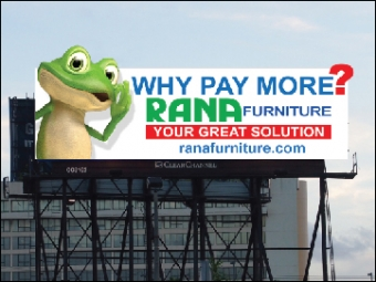 Billboard Rana Furniture Miami-2013